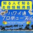 ハワイ通プロデュース!ハワイアン壁紙(540コース)
